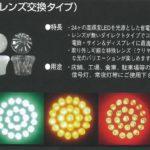 ネオブライトLEDサイン球(レンズ交換タイプ) E17