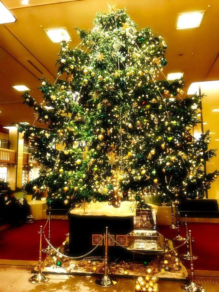 2018年 冬 都内ホテル クリスマスツリー