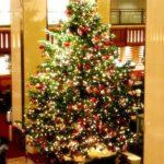 2017年冬 都内ホテル クリスマスツリー施工