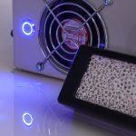 高密度光触媒LED空気清浄機